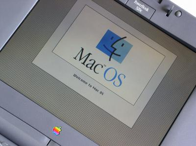 Photo of an Apple PowerBook 520c