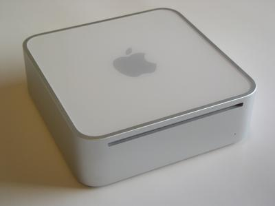 Photo of an Apple Mac Mini